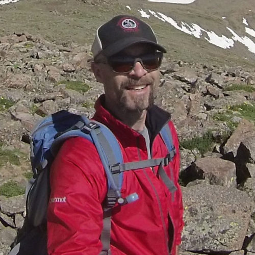 Mark Krasnow on Mt Elbert